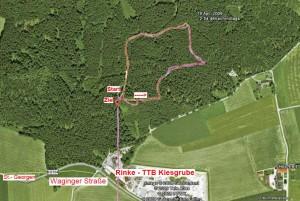 MTB-Rennen-Rinke